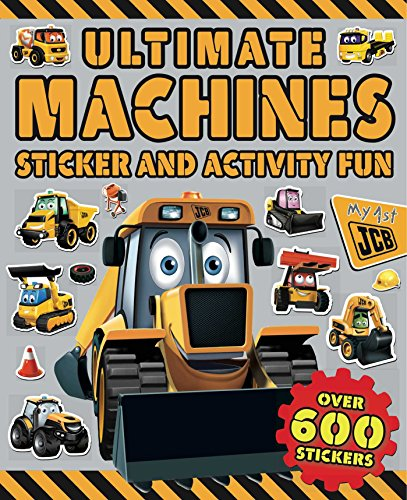 9781499802153: Ultimate Machines Sticker and Activity Fun