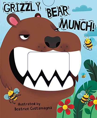 9781499804362: Grizzly Bear Munch! (Crunchy Board Books)
