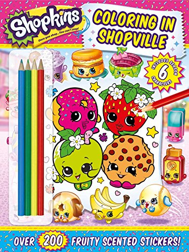 Shopkins Coloring in Shopville