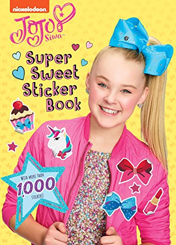 Super Sweet Sticker Book (Paperback): Sizzle Press