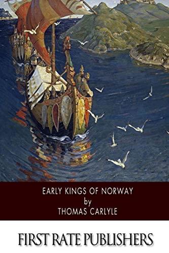 9781500103743: Early Kings of Norway