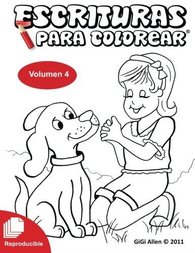 9781500117498: Escrituras Para Colorear 4: Biblia Reproducible (Volume 4) (Spanish Edition)