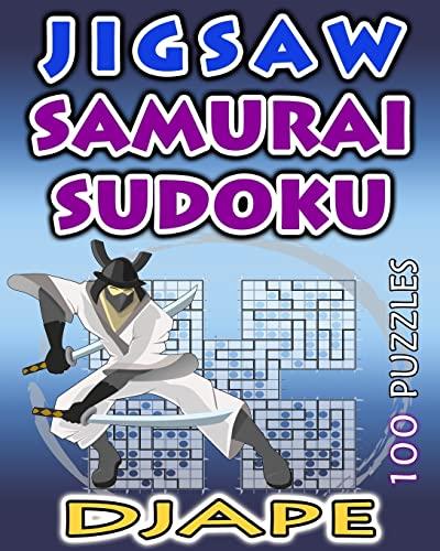 Jigsaw Samurai Sudoku: 100 puzzles (Volume 1): Djape