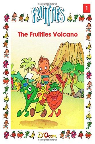 9781500140397: The Fruitties Volcano (Volume 1)