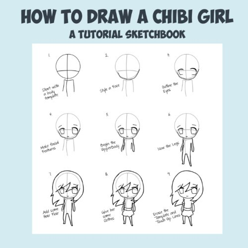 9781500142858: How To Draw A Chibi Girl - A Tutorial Sketchbook: From Fusello Publishing