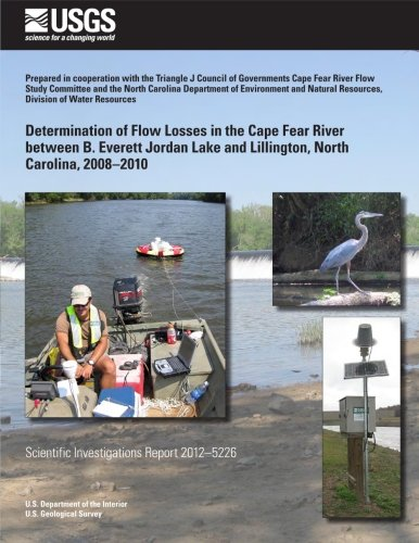 Determination of Flow Losses in the Cape: Weaver, J. Curtis