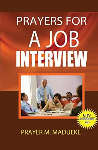 9781500182472: Prayers for a job interview (40 Prayer Giants) (Volume 27)