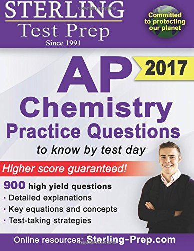 9781500182687: Sterling AP Chemistry Practice Questions: High Yield