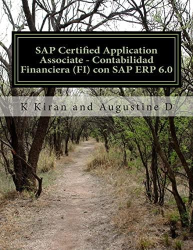 SAP Certified Application Associate - Contabilidad Financiera: D, Augustine,Kiran, K