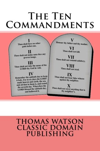 9781500232849: The Ten Commandments