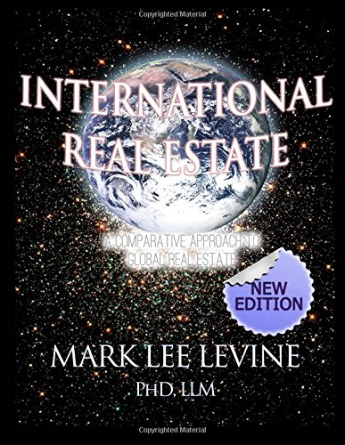 9781500253844: International Real Estate: A Comparative Approach to Global Real Estate