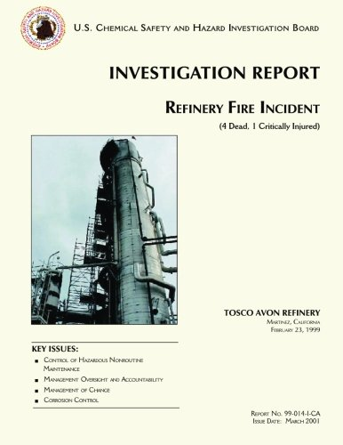 9781500299934: Investigation Report: Refinery Fire Incident
