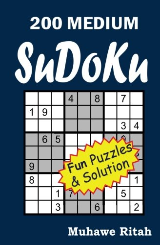 9781500305604: 200 MEDIUM Sudoku (Volume 1)