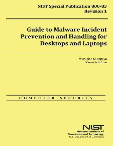 Guide To Malware Incident Prevention And Handling For Desktops And Laptops 9781500311780 Malware, also known as malicious code, refers to a program that is covertly inserted into another program with the intent to destroy data, run destructive or intrusive programs, or otherwise compromise the confidentiality, integrity, or availability of the victim's data, applications, or operating system. Malware is the most common external threat to most hosts, causing widespread damage and disruption and necessitating extensive recovery efforts within most organizations. Organizations also face similar threats from a few forms of non-malware threats that are often associated with malware. One of these forms that has become commonplace is phishing, which is using deceptive computer-based means to trick individuals into disclosing sensitive information.
