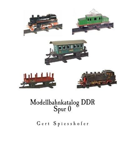 9781500320522: Modellbahnkatalog DDR Spur 0