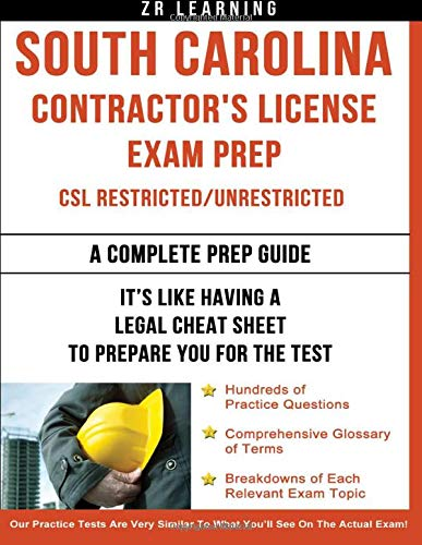 9781500331467: South Carolina Contractor's License Exam Prep