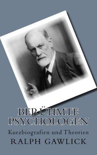 9781500338305: Berühmte Psychologen: Kurzbiografien und Theorien (German Edition)