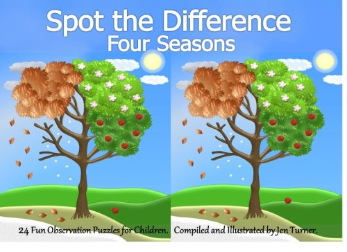 9781500349264: Spot The Difference - Four Seasons