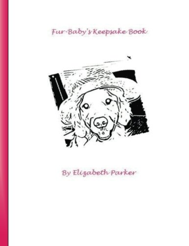 9781500354923: Fur Baby's Keepsake Book (Dog, pink text): A Fill-In-The-Blank Keepsake for your Dog