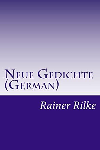 9781500362898: Neue Gedichte (German)