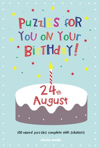 9781500369088: Puzzles for you on your Birthday - 24th August