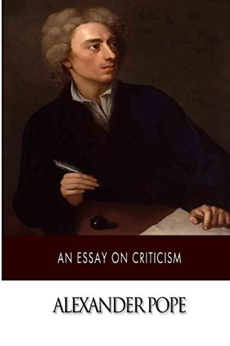 9781500377878: An Essay on Criticism