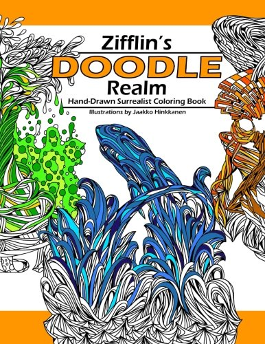 Doodle Realm Zifflin S Coloring Book Paperback