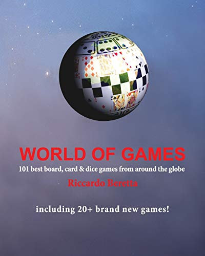 9781500414320: World of Games: 101 best board, card & dice games from around the globe