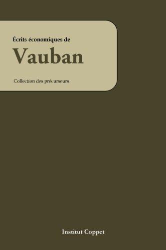 9781500430702: Ecrits economiques de Vauban
