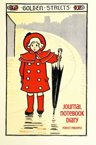 9781500436926: Golden Streets Journal, Notebook, Diary (Seeking Fairyland)