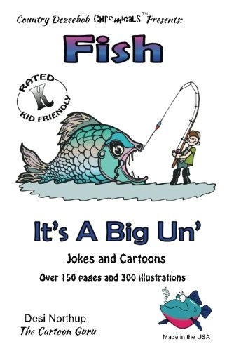 9781500439118: Fish -- It's A Big 'Un -- Jokes and Cartoons: in Black + White