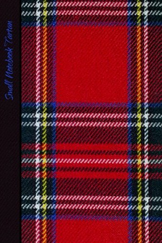 9781500440398: Small Notebook - Tartan: Gifts/Gift/Presents (Scotland Scottish Pocketbook/Mini Notebook) (Red Tartan) (World Cultures)