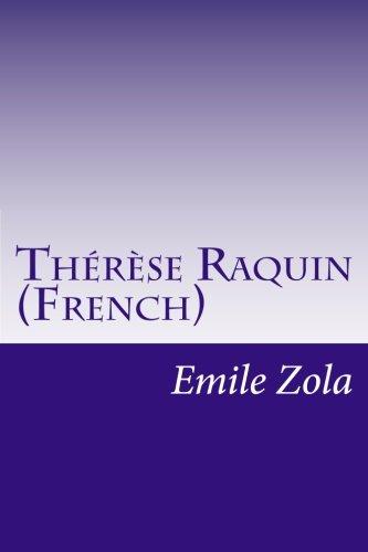 9781500443498: Th�r�se Raquin (French)