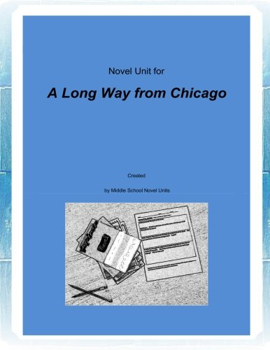 9781500446123: Novel Unit for A Long Way from Chicago