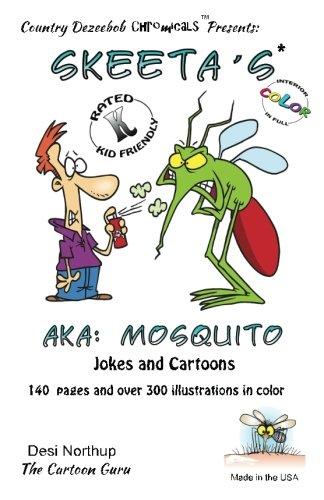 9781500453169: Skeeta's -- AKA: Mosquito -- Jokes and Cartoons: in Full COLOR