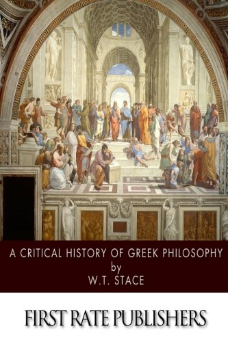 9781500471262: A Critical History of Greek Philosophy