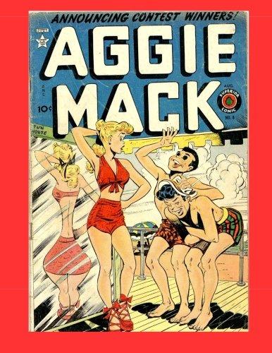 9781500472849: Aggie Mack #8: Golden Age Humor Comic
