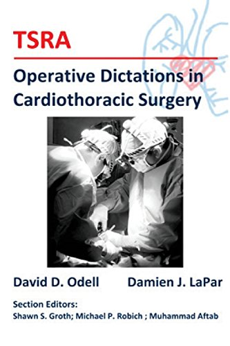 9781500474492: TSRA Operative Dictations in Cardiothoracic Surgery