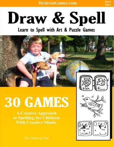 Dyslexia Games - Art And Spell - Series A Book 4 (Dyslexia Games Series A) (Volume 4): Brown, Sarah...