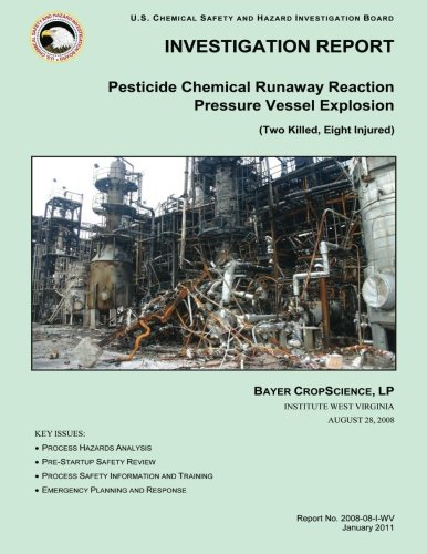 9781500480264: INVESTIGATION REPORT Pesticide Chemical Runaway Reaction Pressure Vessel Explosion