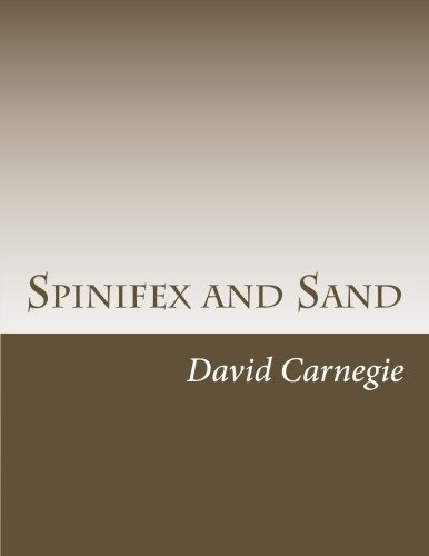 9781500481582: Spinifex and Sand