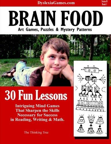Dyslexia Games - Brain Food - Series B Book 1 (Dyslexia Games Series B) (Volume 1): Brown, Sarah ...
