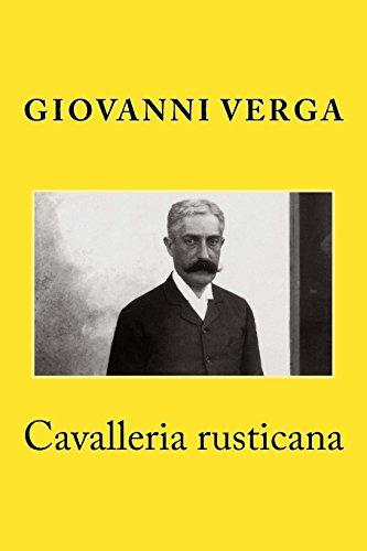 9781500488598: Cavalleria rusticana (Italian Edition)