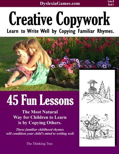 9781500491246: Dyslexia Games - Creative Copywork - Series B Book 8 (Dyslexia Games Series B) (Volume 8)