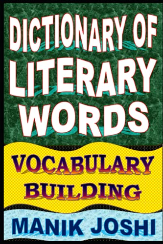 9781500500450: Dictionary of Literary Words: Vocabulary Building