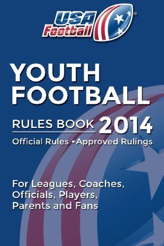 9781500533939: USA Football Rules Book 2014