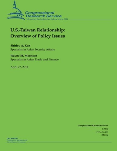 9781500535483: U.S.-Taiwan Relationship: Overview of Policy Issues