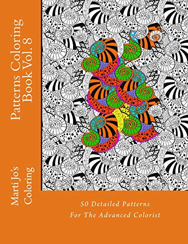 9781500548025: Patterns Coloring Book Vol. 8