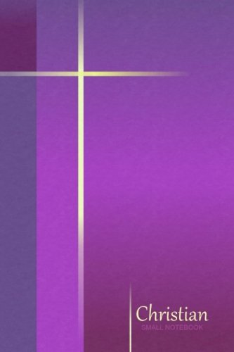 9781500562373: Small Notebook - Christian: Gifts / Gift / Presents ( Simple Cross - Purple ) ( Pocketbook / Mini Notebook ) (Religious & Spiritual)