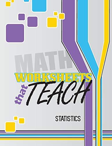9781500566364: Worksheets That Teach: Statistics
